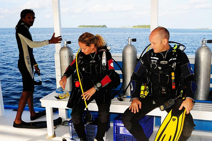 scuba diving safaris maldives